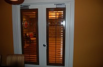 Stained French Doors